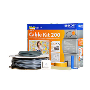 VÄRMEKABELPAKET CABLE KIT 200 - 23M